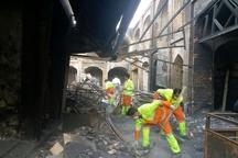 آغاز عملیات آواربرداری در بازار سنتی تبریز  مرمت و بازسازی تا یک هفته آینده