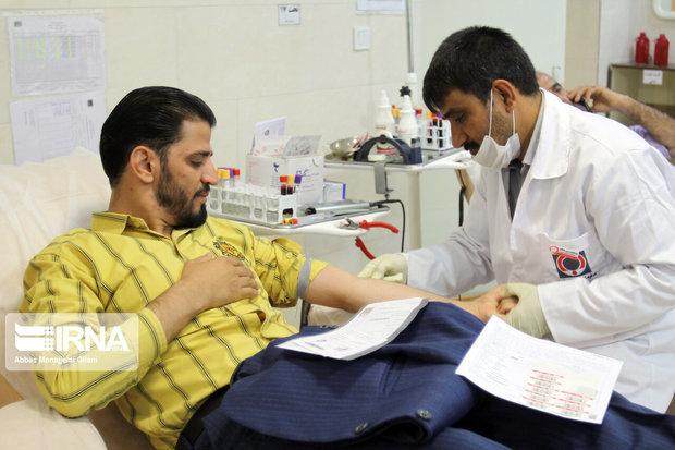 ۵۴۱ میاندوآبی در تاسوعا و عاشورا خون اهدا کردند