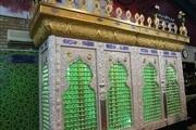 ضریح خیمه گاه امام حسین و حضرت قاسم در بوشهر رونمایی شد