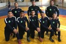 کشتی گیران نوجوان خراسانی به مسابقات کشوری اعزام شدند