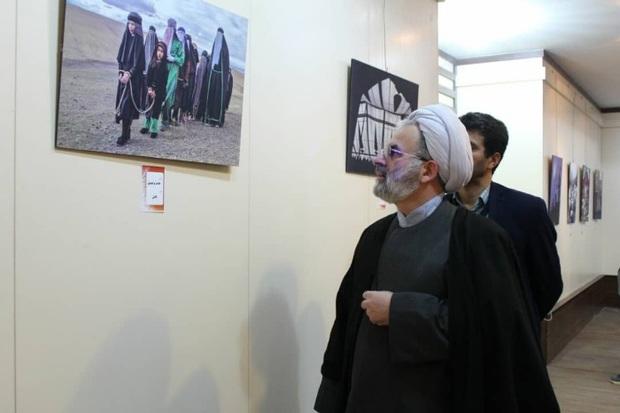 عکاسان از نمایشگاه عکس عاشورایی لاهیجان استقبال کردند