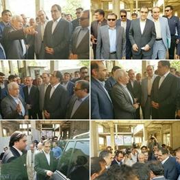  وزیر بهداشت از مرکز درمانی خیرساز خانواده قاضی در خرم آباد بازدید کرد