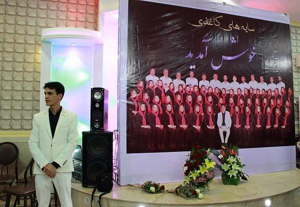 برگزاری آیین گشایش نمایشگاه سایه های کاغذی در بندر امام خمینی