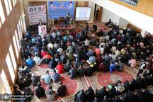 تجدید میثاق دانشجویی با آرمان های امام خمینی(س) در خمین