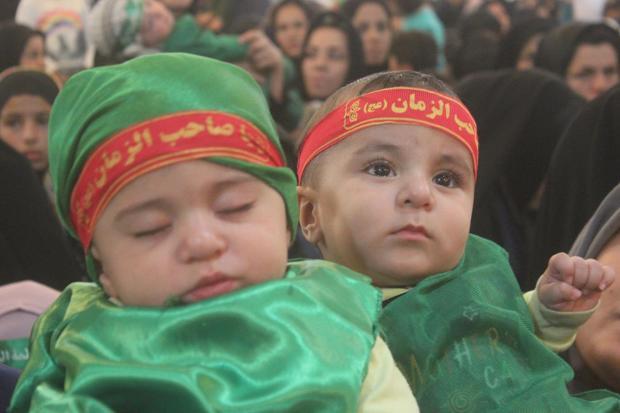 همایش شیرخوارگان حسینی در خلخال برگزار شد