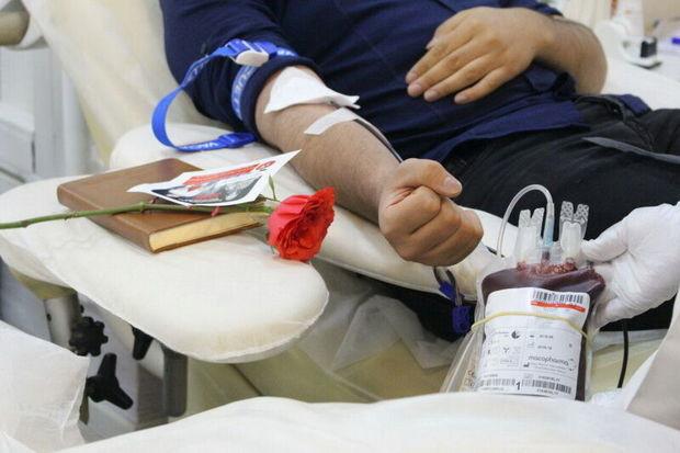 طرح پویش نذر اهدای خون تا پایان صفر ادامه دارد