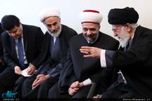 رهبر معظم انقلاب: اگر سران کشورها و ملتهای منطقه تصمیم قاطع بر مقاومت بگیرند، دشمن هیچ غلطی نمیتواند بکند/ به زودی در قدس نماز جماعت خواهید خواند
