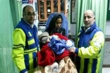 نجات مادر باردار اهل زاغمرز توسط اورژانس