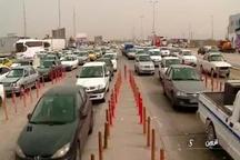 ترافیک نیمه سنگین در محورهای مواصلاتی قزوین