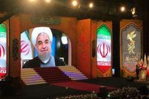 رئیسجمهور روحانی: سینما بخش مهمّی از راهحلهای مسائل و مشکلات امروز و فردای ایران و جوانان عزیزمان است