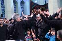 آیین عزاداری مناسبت های آخر ماه صفر در یزد برگزار شد