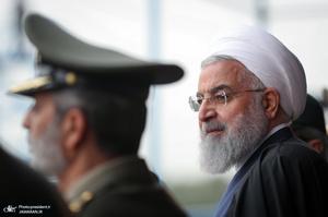 مراسم رژه روز ارتش در جوار حرم مطهر امام خمینی(س)