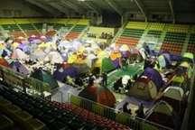 اقامت 33 هزار و 559 نفرشب در مراکز اسکان شهرداری مشهد