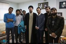 دیدار اعضای شورای مرکزی انجمن اسلامی دانشجویان دانشگاه تهران و علوم پزشکی تهران با سید حسن خمینی