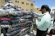۶ میلیارد ریال پوشاک قاچاق در کرمانشاه کشف شد