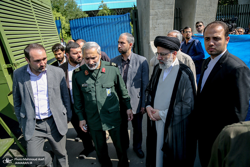 مراسم تشییع پیکرهای مطهر 150 شهید دوران دفاع مقدس