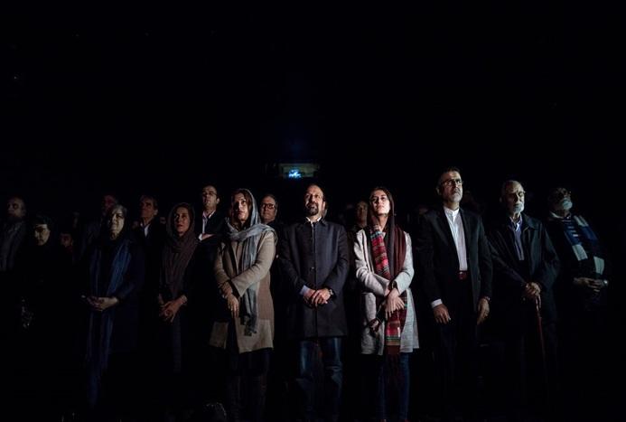 تصاویر مراسم تجلیل از اصغر فرهادی و فیلم فروشنده
