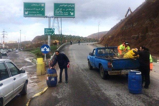 مسیر خروجی ولی امر به پاسداران تبریز بسته شد