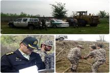 رهاسازی 10 هکتار اراضی تحت تملک دولت از چنگ متصرفان