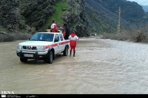 20 گردشگر از سیلاب روستای حصار بند گلستان مشهد نجات یافتند