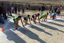 مسابقات قهرمانی دومیدانی دانش آموزان مدارس مراوه تپه برگزار شد