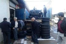 آغاز توزیع 3 هزار حلقه لاستیک به قیمت کارخانه میان تاکسیرانان