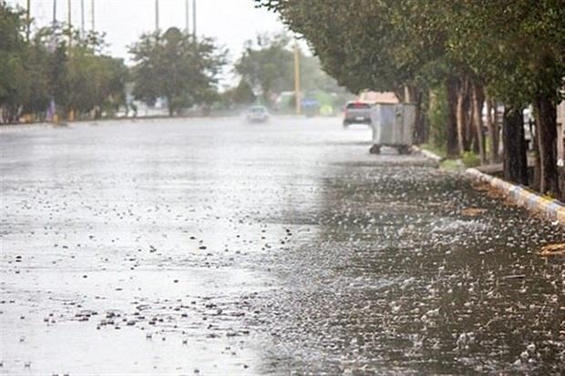بارش پراکنده باران در کهگیلویه و بویراحمد ادامه می یابد