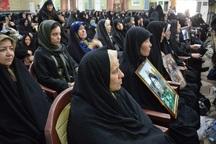 1000 مادر و همسر شهید در شهرری تجلیل شدند