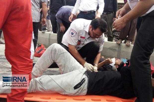 هشت حادثه رانندگی شرق سمنان در آخرین روز تعطیلات