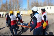 مانور زلزله در مدارس استان اردبیل اجرا شد