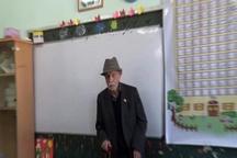 تجلیل از سالخوردهترین معلم اردبیل