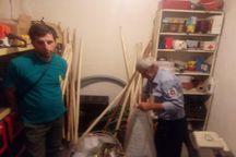 نخستین پایگاه اطفاء حریق مردمی در شهر مجن شاهرود راه اندازی شد