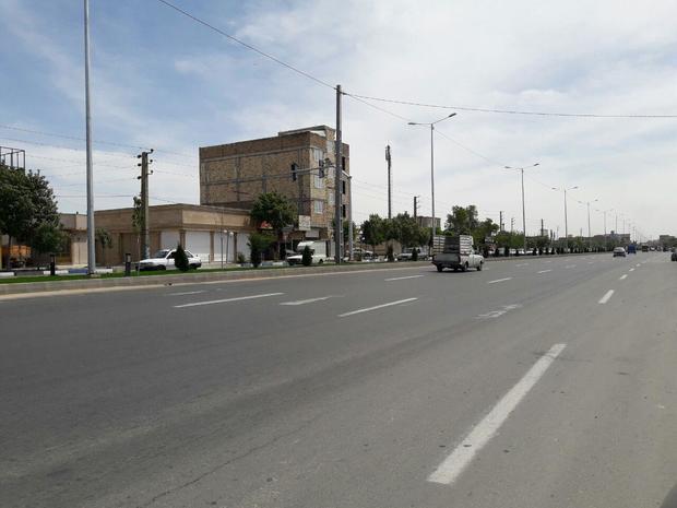 1200 اصله درخت ورودی شهر ورامین کاشته شد