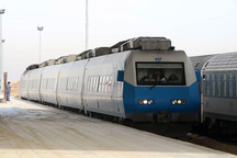 سوت نخستین قطار تهران - همدان به صدا درآمد