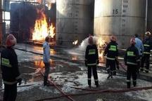 """آتشسوزی در""""خیریه تلاش"""" به صورت کامل مهار شد"""
