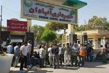 آتش نشانان آبادان خواستار پرداخت مطالبات خود شدند
