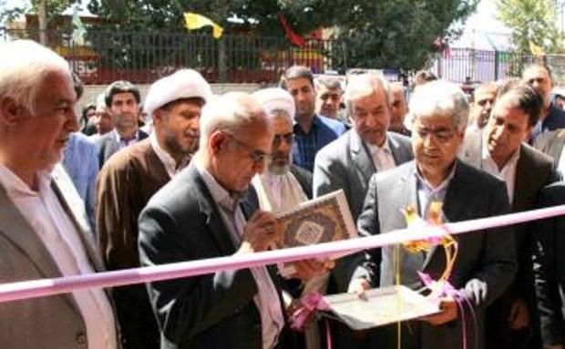 افتتاح پروژه های عمرانی شهرستان شهریار با حضور قائم مقام وزارت کشور