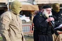 دستگیری داعشی ریش سفید در موصل + تصاویر