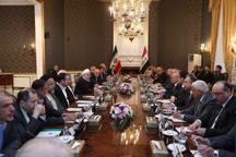 روحانی: توسعه روابط و همکاریهای ایران و عراق در راستای منافع دو ملت، و ثبات و امنیت در منطقه است/ عادل عبدالمهدی: سفر رئیس جمهوری اسلامی ایران به عراق، کلیدی و تاریخی بود/در کنار هم میتوانیم پیروزیهای بزرگی را رقم بزنیم
