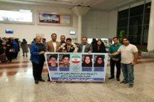 نایب قهرمان مسابقات جهانی دارت وارد شیراز شد