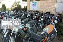 بیش از ۳۰ دستگاه خودرو و موتورسیکلت سرقتی در سقز کشف شد
