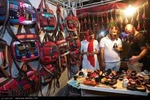 نمایشگاه صنایع دستی در بوستان شاهد کرمانشاه گشایش یافت