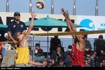 تیمهای برتر مسابقات والیبال ساحلی آزاد کشور در بندرترکمن معرفی شدند