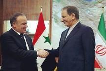 جهانگیری: مردم سوریه باید در ساختار حکومت و تعیین حاکمان خود تصمیم گیری کنند