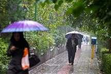 پیش بینی غبار محلی و بارش پراکنده در البرز