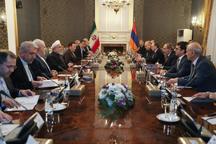 روحانی: ایران همواره خواهان توسعه روابط و همکاریهای خود با کشورهای همسایه بویژه ارمنستان است