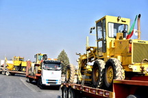 ماشین آلات راهداری آذربایجان غربی به مناطق سیل زده لرستان راهی شد