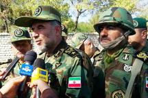 نیروهای مسلح ایران با پرچم سفید صلح، آماده رزم و دفاع هستند