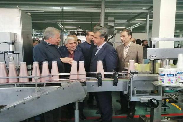 استاندار قزوین از سه واحد تولیدی در شهرصنعتی البرز بازدید کرد