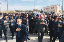 پیکر جانباز سرافراز شهید کیخا در زاهدان تشییع و خاکسپاری شد